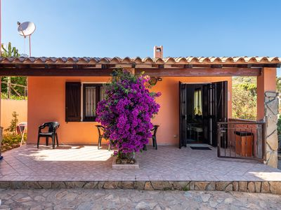 Photo for Holiday Home Villetta Francesco with Sea View, Private Terrace & Air Conditioning; Parking Available, Pets Allowed