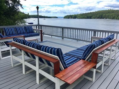 Photo for WWD1Wfc -  Spectacular Waterfront Home Lake Winni in Alton