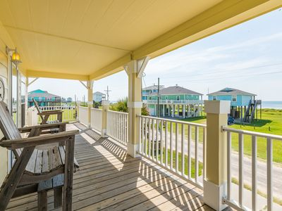 Photo for Dog-friendly oceanview home with free WiFi and front deck!