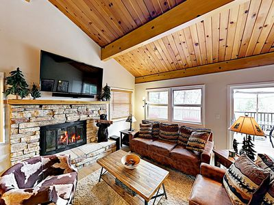 Photo for New Listing! Updated Moonridge Cabin w/ Spacious Deck, Near Snow Summit