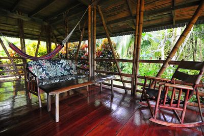 Casa Bambu living room has great view by guest James McCraw