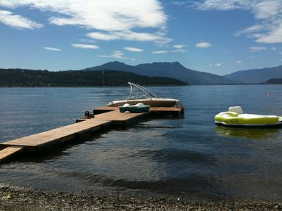Photo for Waterfront House and Suite at Shuswap Lake BC