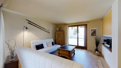 Photo for 1BR Apartment Vacation Rental in Maloja