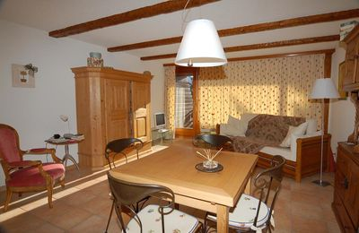 Photo for Large studio located on the second floor of a building in the center of the resort Composition: •