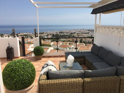 """Photo for Unique """"Boutique"""" Penthouse with outstanding views across Nerja!"""