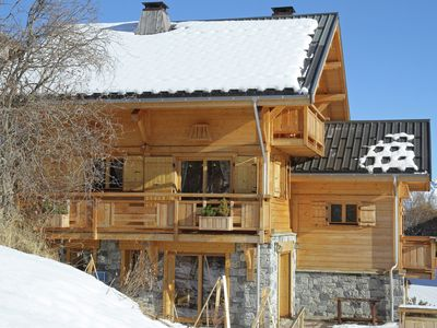 Photo for This authentic chalet is surrounded by a vast ski resort in Savoie