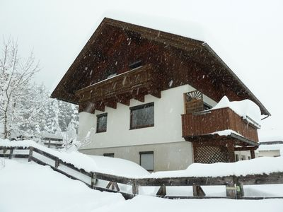 Photo for Spacious apartment for up to 6 people. near the PresseggerSee and ski area Nassfeld