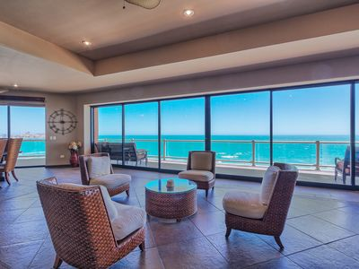 Photo for LARGEST 3 BR/3 BA Condo in Las Palomas -- HUGE Wrap-Around Patio, AMAZING Views!