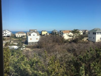 Photo for Ocean view,5 bdr.home,hot tub,bikes,new wide beach,linens(& towels w full weeks)