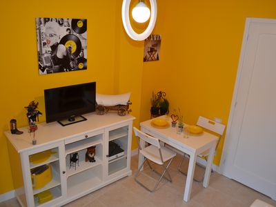 Photo for YELLOW HOME - Cozy independent loft just steps from the sea