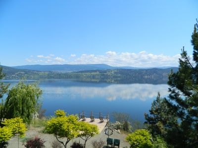 Photo for Stunning Okanagan Lake Front Home with Unobstructed Views and Private Dock