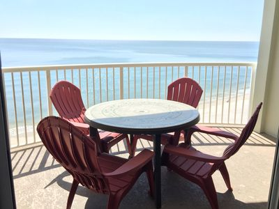 Photo for A+++ Tradewinds  Direct  Beach Front, 1 BR/2 bath, Free wifi!  Great rates!!