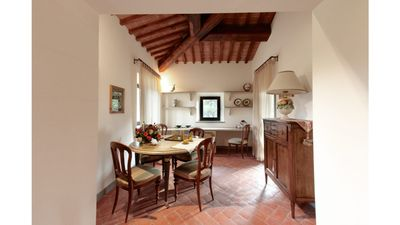 Photo for Apartment in Renaissance Villa in the Florentine Chianti countryside