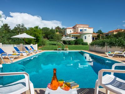 Photo for Villa Quina ~ Private Pool~A/C & Wi-fi Incl - Sleeps 9 + 2 cots - BOOKING 2020!