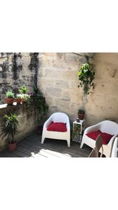 Photo for Apartment with roof terrace in the historic center of Uzès