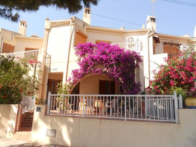 Photo for terraced house 70m2 located 25 km south of Alicante between SANTA POLA & GUARDAMAR