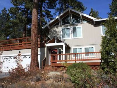 Photo for Nice family home w/ NEW hot tub, great hiking X Country skiing! 1 mile from Tahoe City