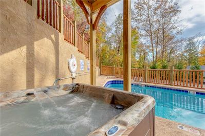 Hot Tub - Relax and unwind after a long day in the hot tub.