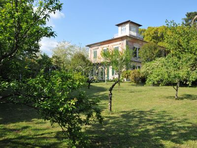Photo for Exclusive Noble Villa, Park, BBQ, Wi-Fi, at few mins from beaches & 5 Terre