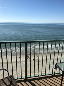 Photo for Ocean Front One Bedroom Condo with separate living area