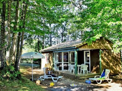 Photo for Camping Saint Avit Loisirs ***** - Chalet Grand Confort TV 3 rooms 2 bathrooms 4/6 persons