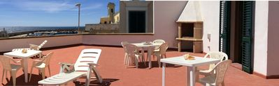Photo for House in Gallipoli center, with beautiful terrace overlooking the sea