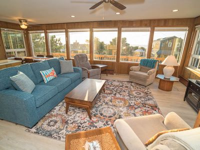 Photo for Central Manzanita Ocean-View Cottage Has Woodstove And Large Deck, Proximity