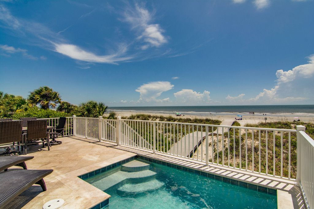 Oceanfront Home W Pool Elevator Amazing Views Palmetto Dunes Hilton Head South Carolina