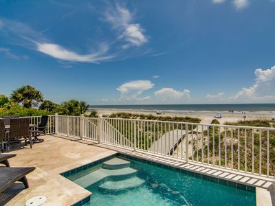 Photo for Oceanfront Home w/ Private Pool, Elevator, Amazing Views, Chic Decor!