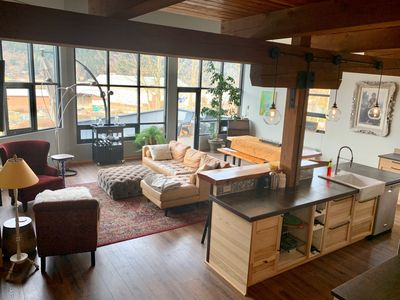 Photo for GORGEOUS GRAND LOFT steps from downtown cafes/coffee shops