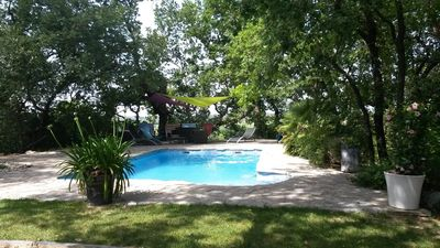 Photo for Villa for 6 pers 150m2 with swimming pool in the quiet village of Sommières