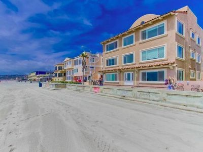 #342 Ocean Front Luxury Ground level 2 unit Combo - Sleeps 18