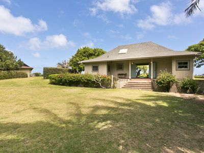Photo for Waipuna - Welcome to Waipuna Cottage: Secluded Oceanfront Estate with Panoramic Views!