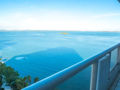 Photo for 3835 - 2 br + den condo: bay & city views!