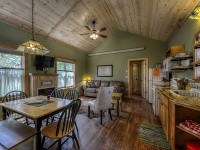 Photo for New Custom Black Hills Cabin near Mount Rushmore, Centrally Located, Peaceful