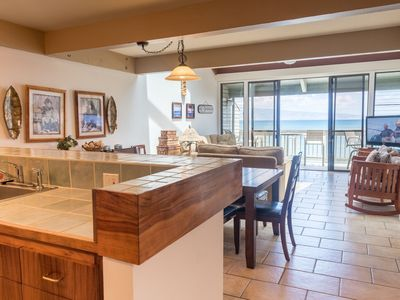 Photo for Great Family Deal! Ocean Front 3 Bdrm at Kahana Outrigger