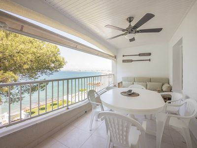 Photo for TVL_92 Apartament Castell with direct access to the beach
