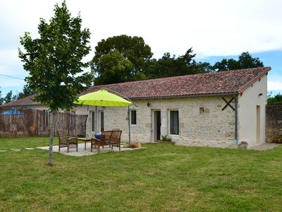 Photo for Charming little house in the Charente Limousine for 4 people, swimming pool