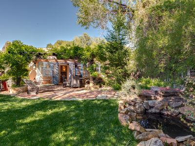 Photo for Casa Oasis - Luxury historic adobe in one of Santa Fe's prime locations!