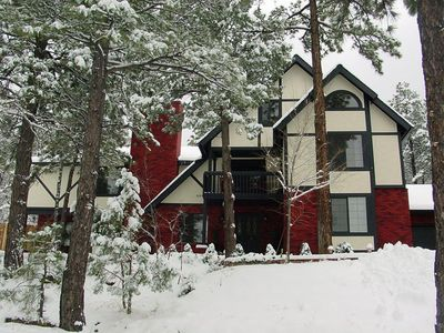 Photo for Luxury Former B & B, Loaded, 13 TVs, 5 Firepl, 6 Jetted Tubs, near Flagstaff