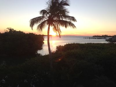 Tequila Sunrise Every Day!! Enjoy the view of Safety Harbor from the veranda!!
