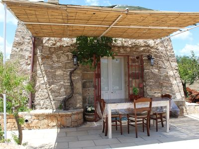Photo for SALENTO idyllic rural stone house 5 minutes from the sea