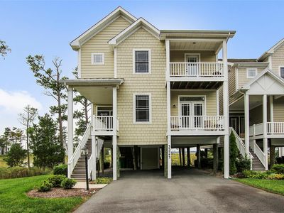 Photo for FREE ACTIVITIES!  FACING THE INDIAN RIVER BAY and backing to Holts Landing State Park in the gated community of Ellis Point, this home offers rare seclusion and serenity.