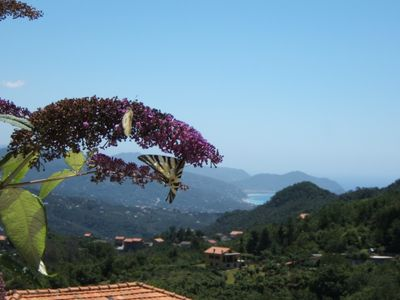 Photo for Oasis of relaxation between hill and sea! Turquoise Suite between Portofino and Cinque Terre