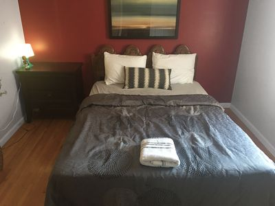Photo for Cozy Private Room with Kitchen Access Just Steps from NYC, Shared Bathroom