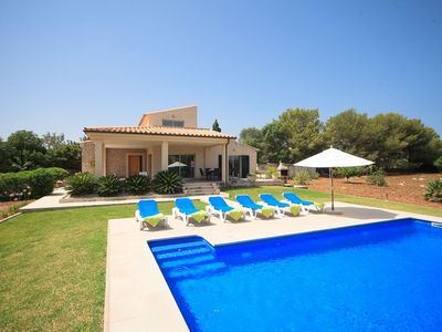 Photo for Catalunya Casas: Villa Emba for 6 guests, only 2km to the beaches of Mallorca! Catalunya Casas