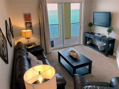 Photo for A Nicely appointed Gulf Front 2 Bedroom 2 Bathroom Condo overlooking the Gulf of Mexico