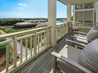 Photo for Reduced Rates For Summer Bookings!!! WaterColor Gulf Front Beachside #11