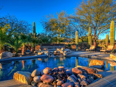 Photo for A majestic home on a beautiful expansive 2.3 acre lot surrounded by desert landscape.