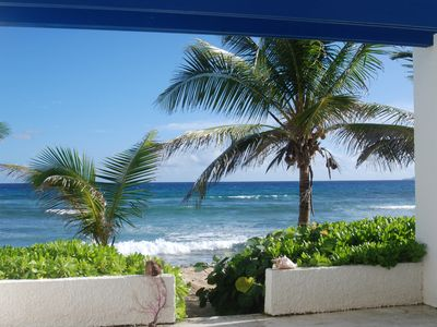Photo for Relax, Quiet, Breeze with sounds of surf ..... Enjoyable Beach Front Condo